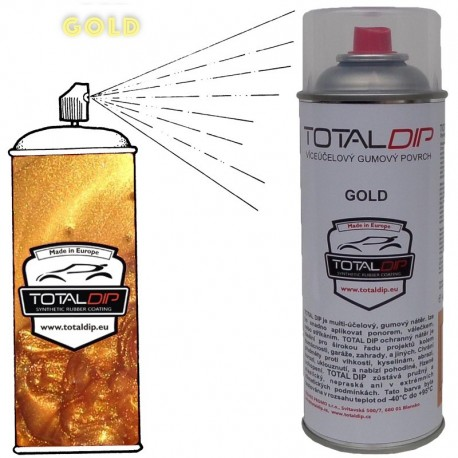 Total Dip spray Gold Oro 400ml