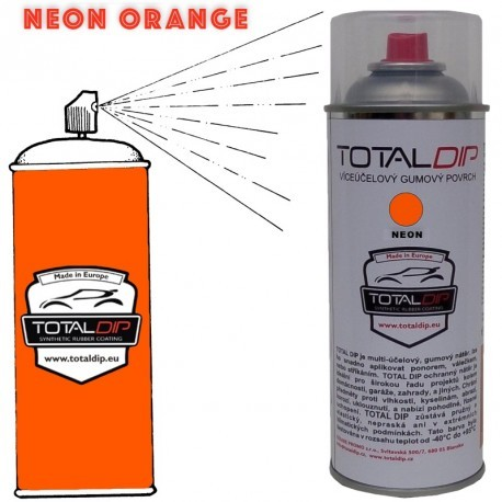 Total Dip spray Blaze Arancione Fluo 400ml
