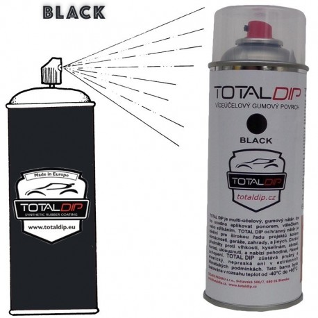 Plasti Total Dip spray NERO opaco 400 ml